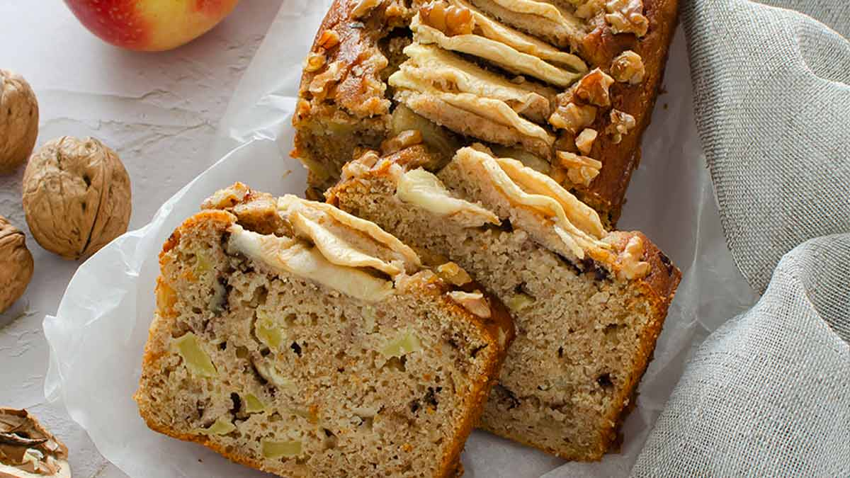 gâteau moelleux aux pommes et à la ricotta