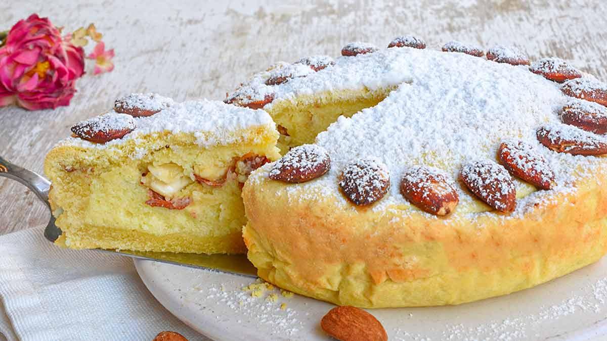 tarte en pâte brisée aux amandes