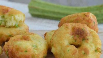 Beignets courgettes parmesan et ricotta prêts en 5 minutes
