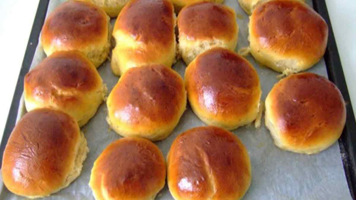 Délicieux petits pains au lait faciles