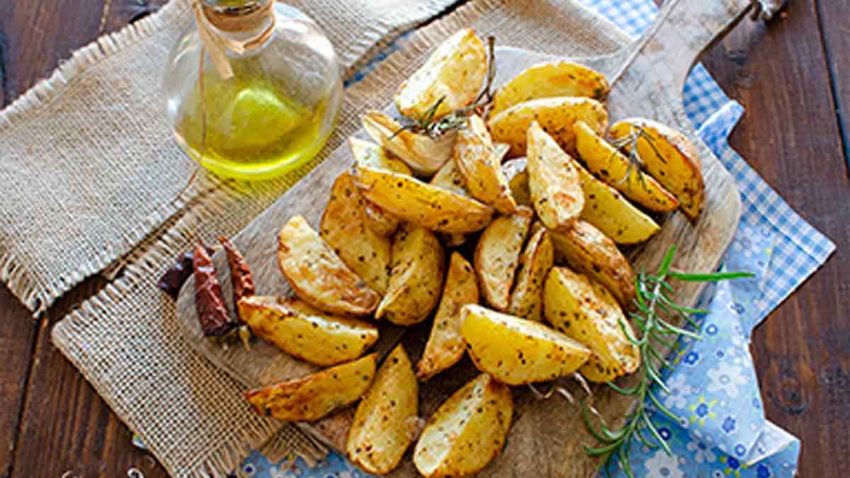 Délicieuses pommes de terre piquantes