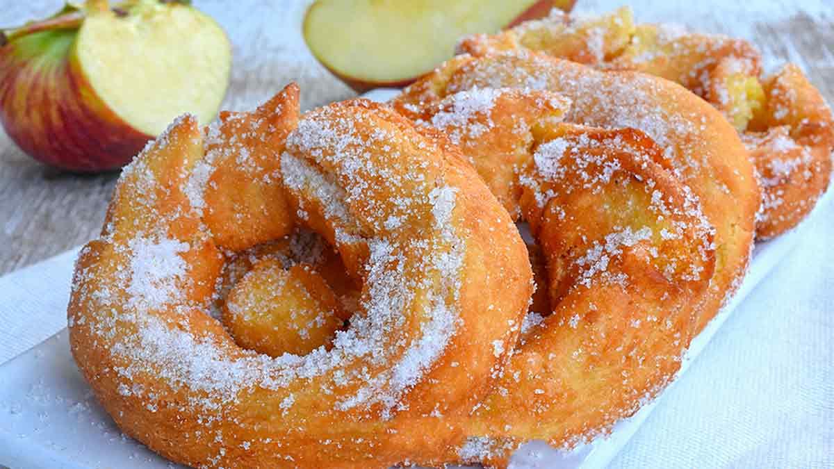 Délicieux beignets aux pommes