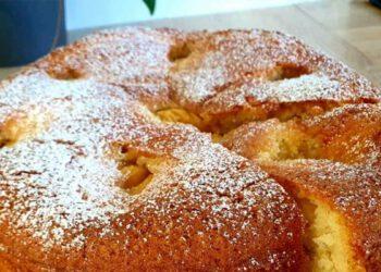 Délicieux gâteau fondant aux poires