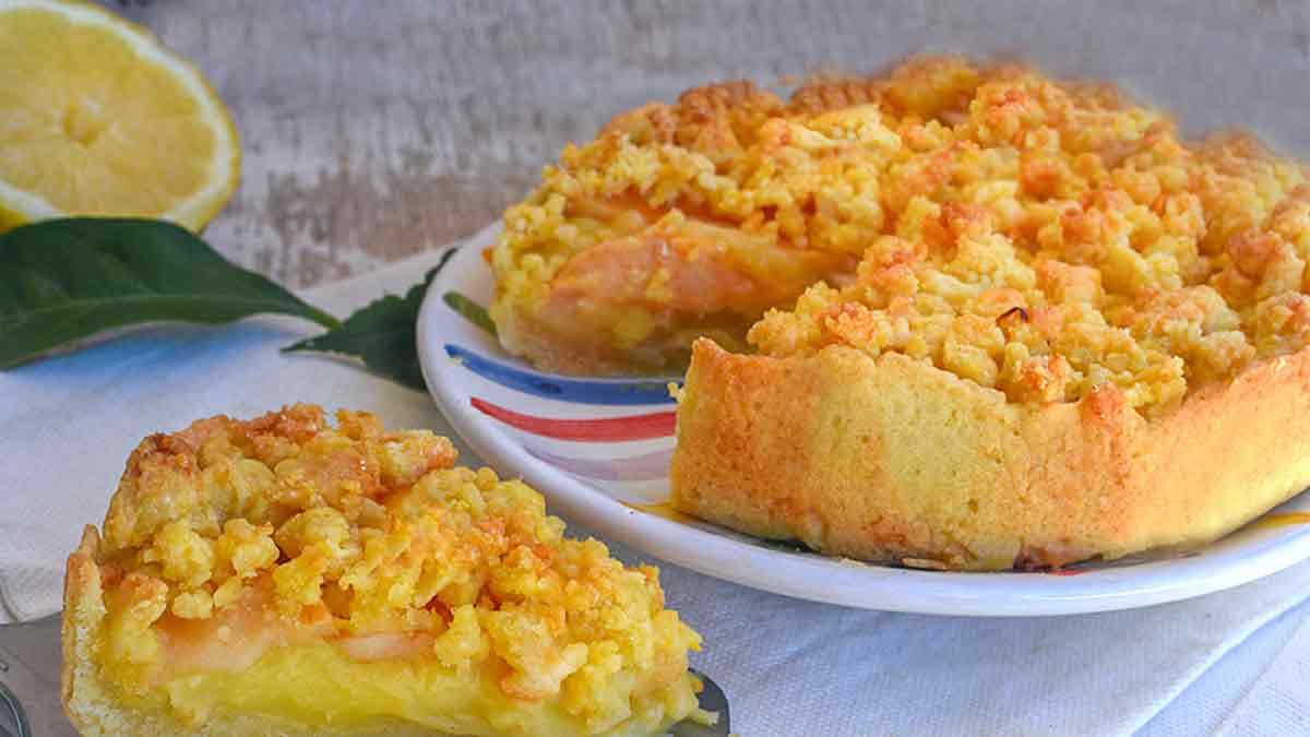 Fabuleuse crème de pommes émiettées et citron