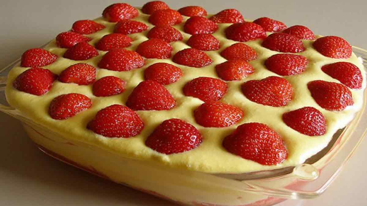 Fabuleux tiramisu gourmand aux fraises