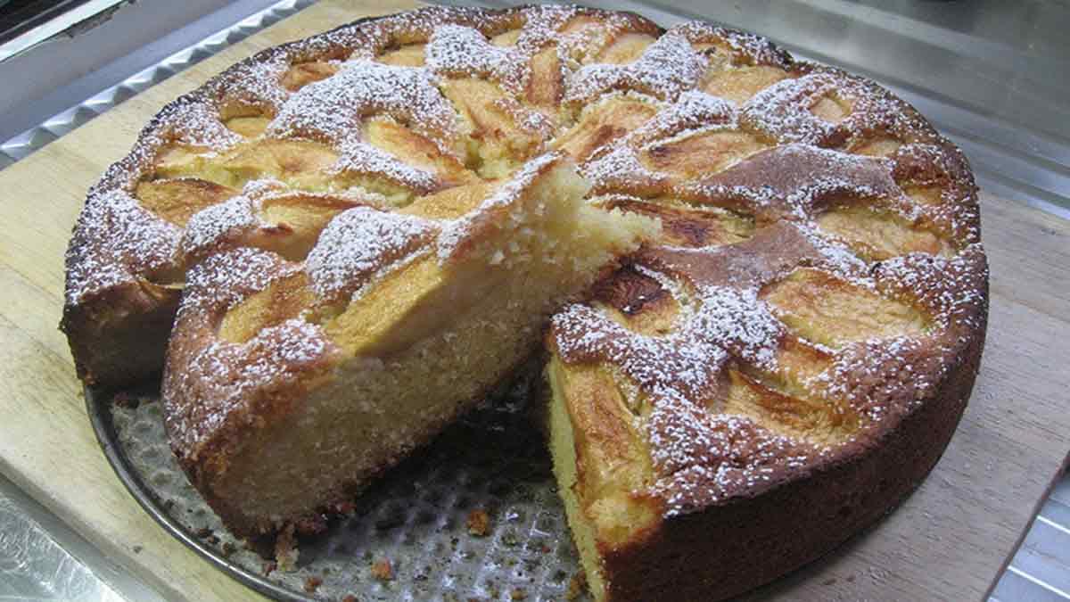 Fameux gâteau aux pommes de grand-mère