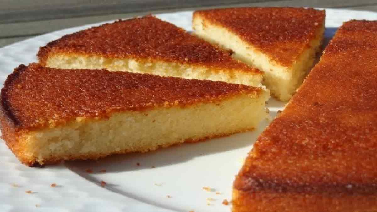 Gâteau parfumé au citron vanille et amande