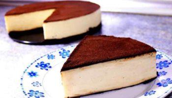 Gâteau au lait et au chocolat sans œufs ni farine