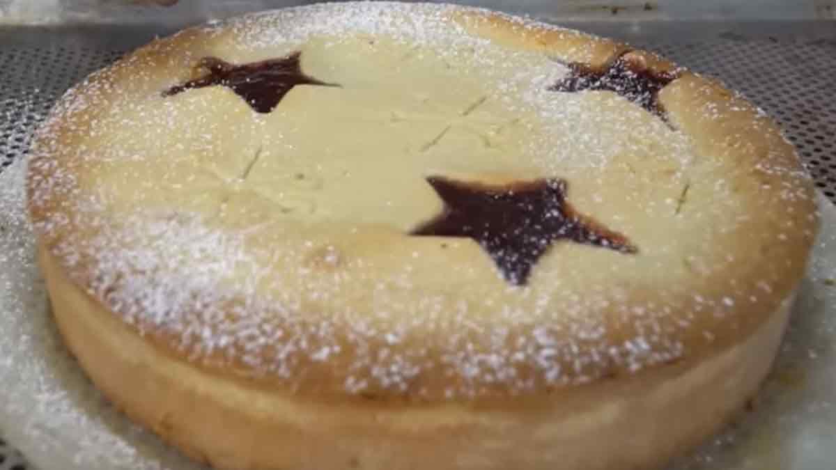 Magnifique gâteau sablé de Noël