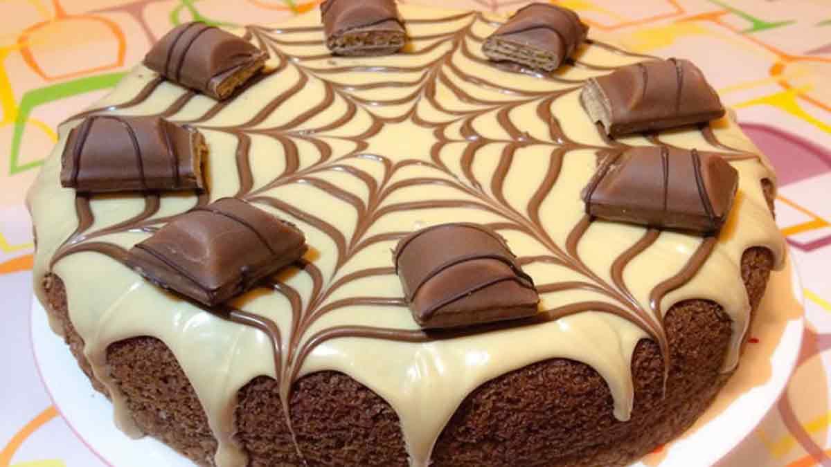 Merveilleux gâteau Kinder bueno