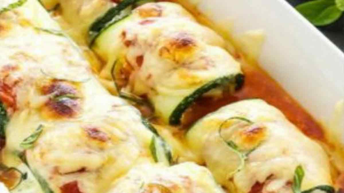 Onctueuses lasagnes de courgettes