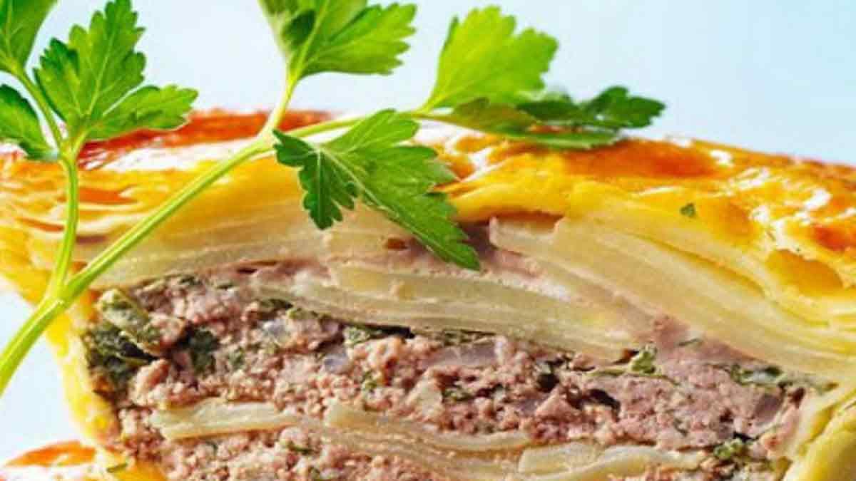 Pâté de pommes de terre à la viande hachée