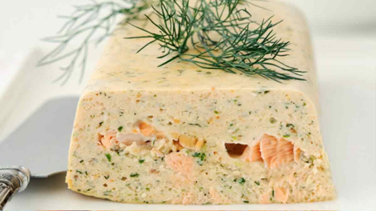 Savoureuse terrine de saumon