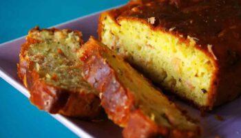 Savoureux cake au citron et au saumon