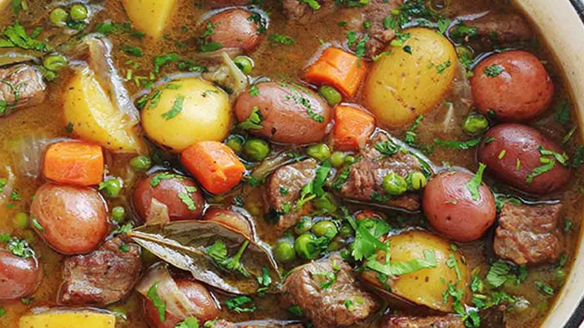 Succulent ragoût de bœuf aux légumes (2)