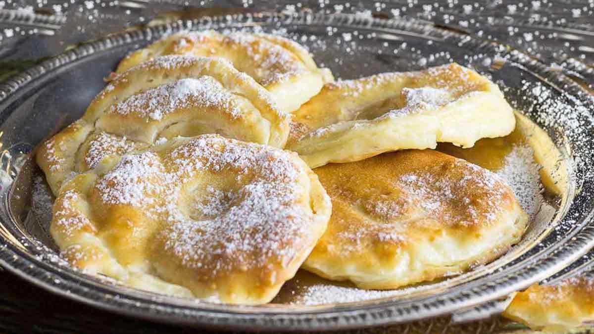 Succulents beignets aux pommes