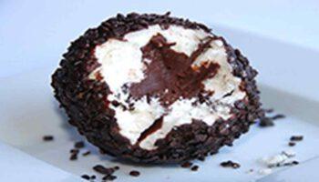 Truffe meringuée au chocolat de grand-mère