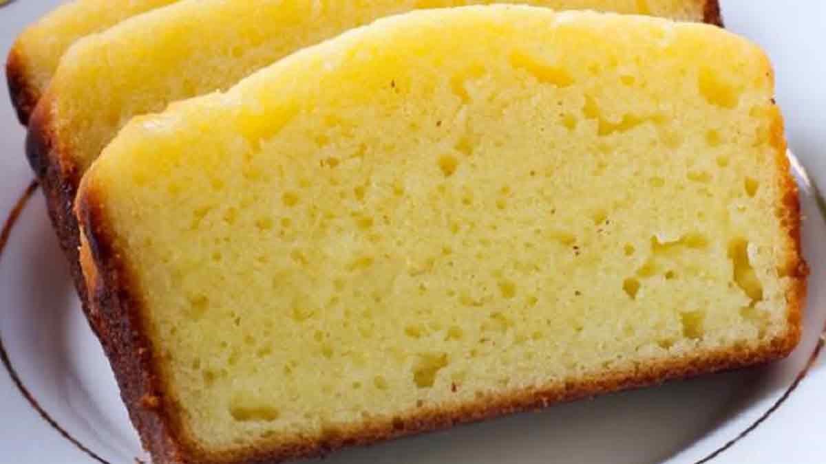 gâteau au yaourt allégé vanillé
