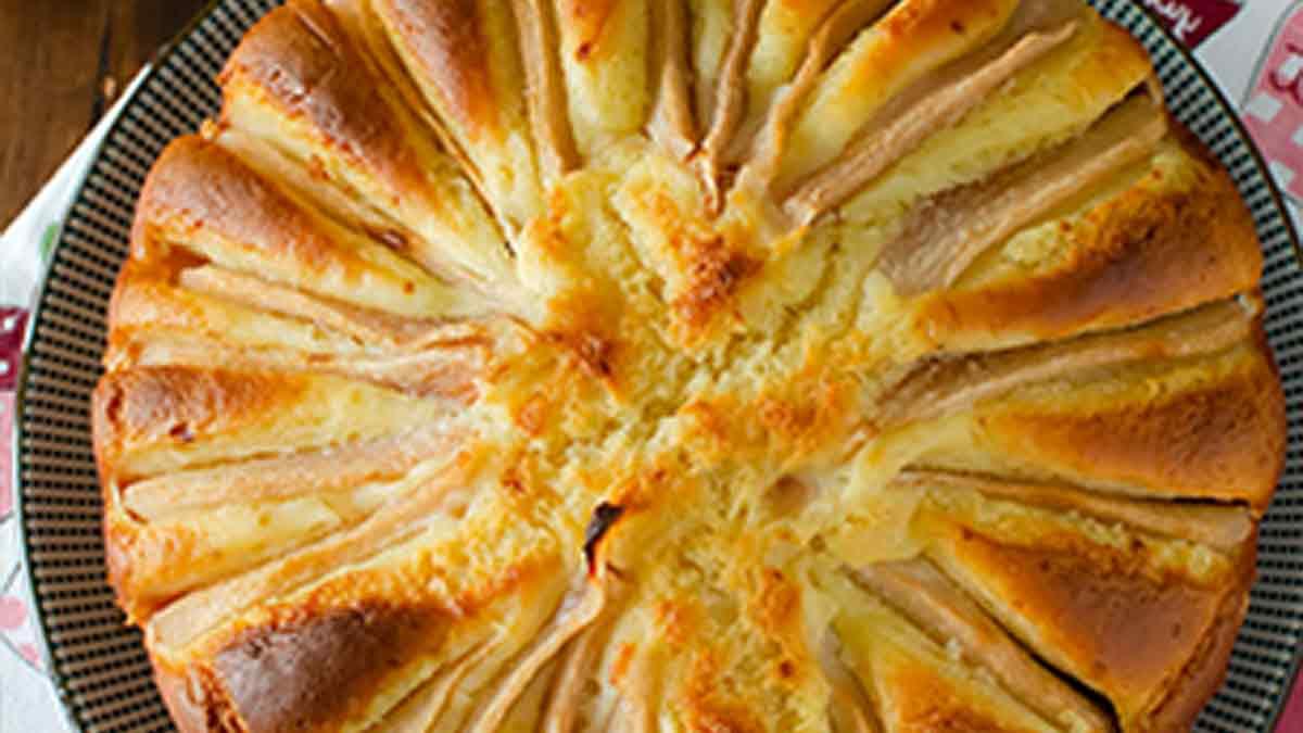 gâteau aux poires et à la ricotta sans beurre