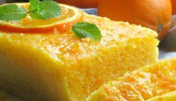 gâteau de semoule avec orange WW