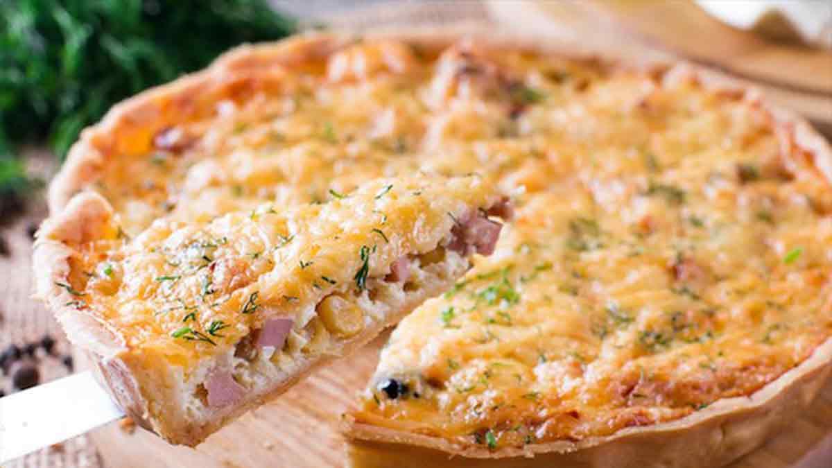 quiche au jambon fromage et oignon