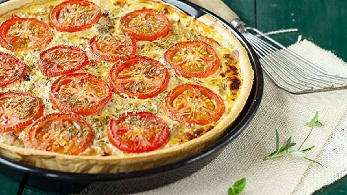 tarte thon aux tomates et moutarde