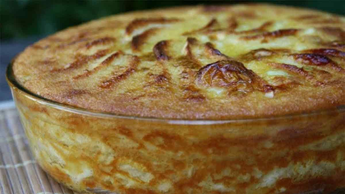 Délicieuse tarte aux pommes ultra moelleuse