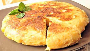 Délicieuse tortilla espagnole facile à faire