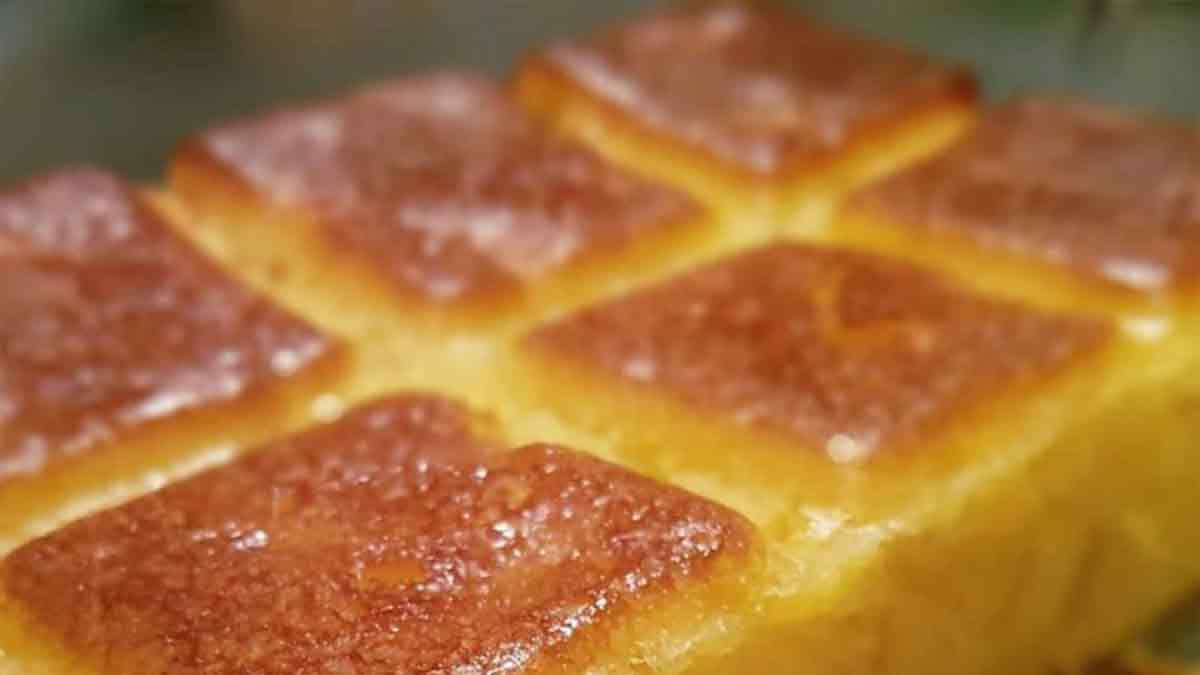 Délicieux gâteau rapide aux pommes