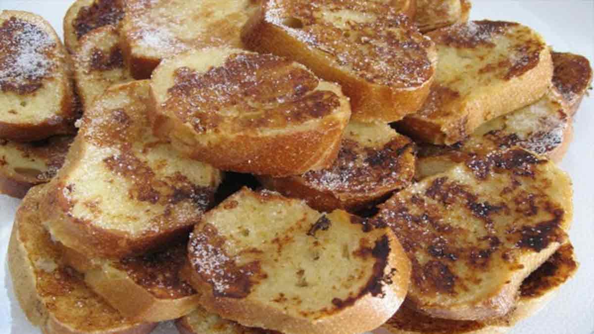 Délicieux pain perdu facile à faire