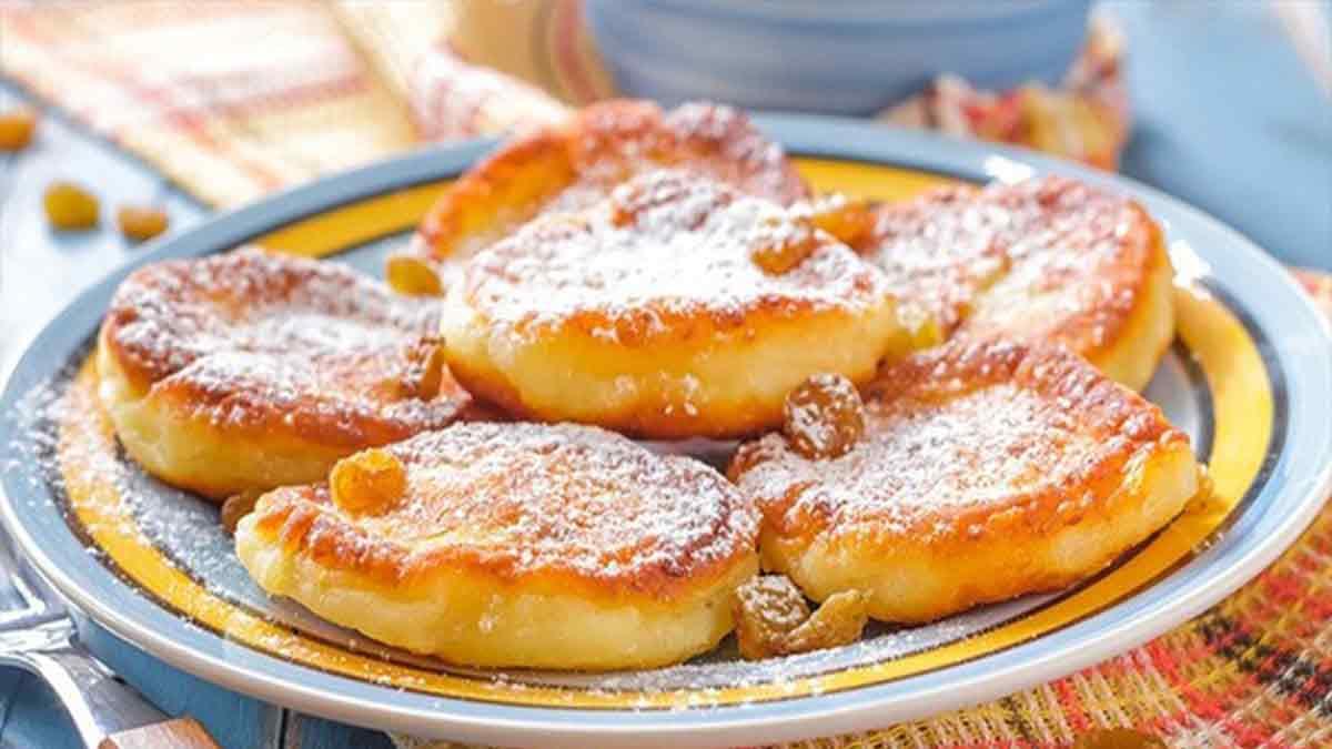 Délicieux pancakes au yaourt faciles