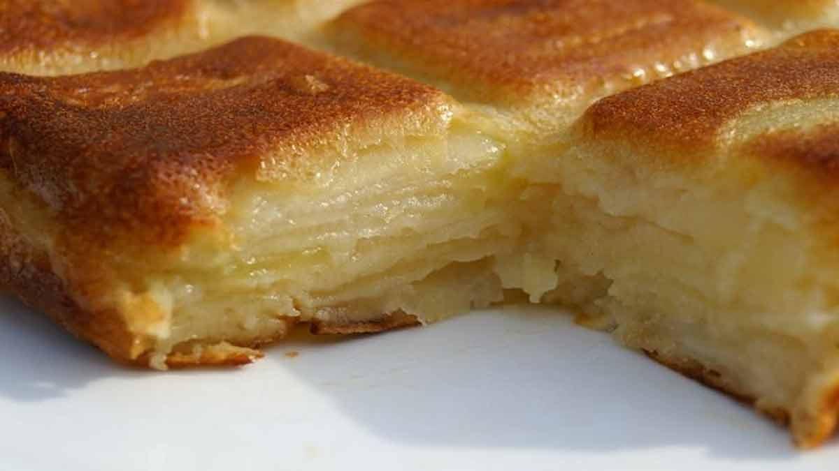 Fabuleux gâteau aux pommes-poires