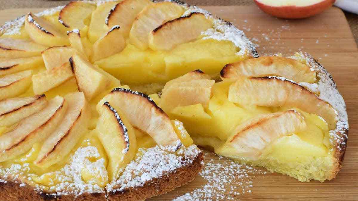 Fabuleux gâteau flamand aux pommes