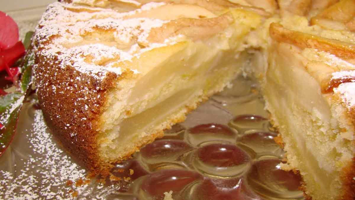 Fabuleux gâteau fondant aux poires