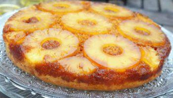 Fabuleux gâteau renversé avec ananas