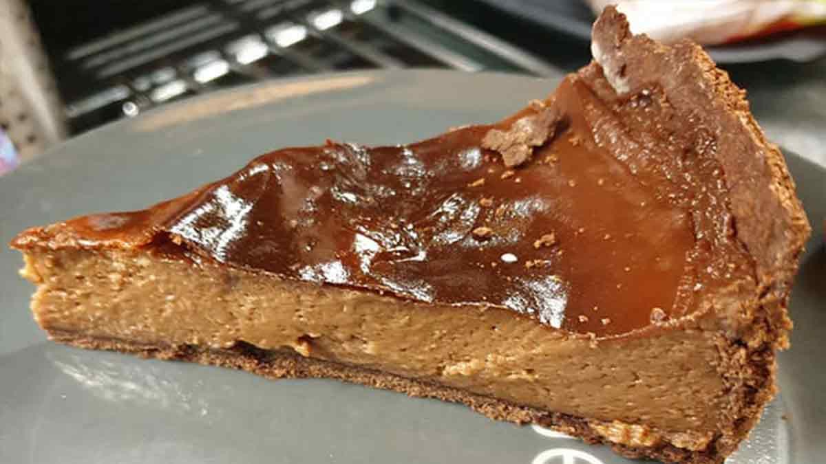 Flan pâtissier au chocolat très simple