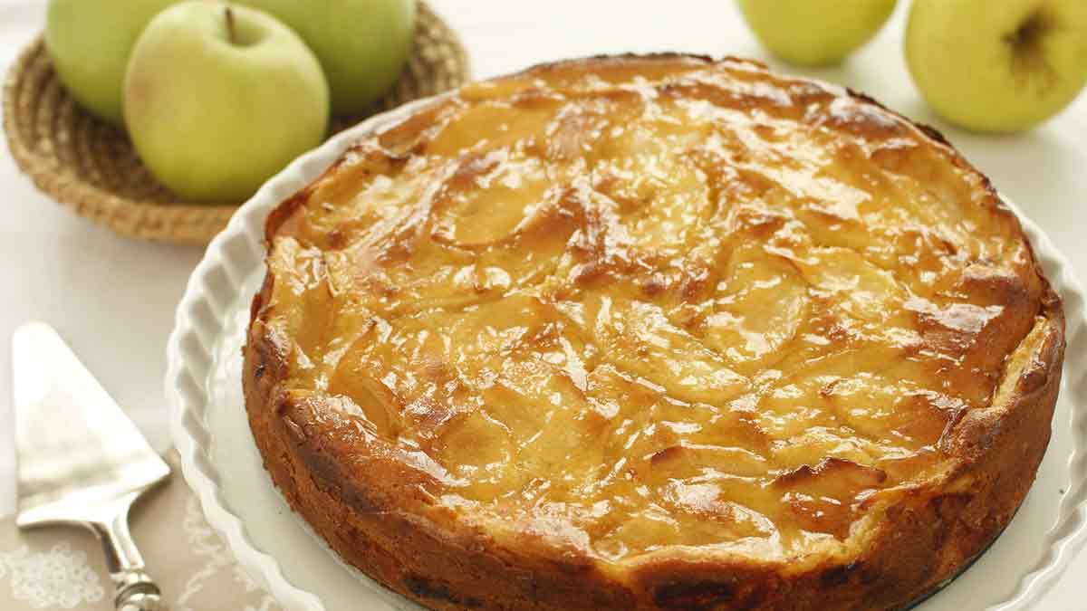 Gâteau aux pommes de grand-mère