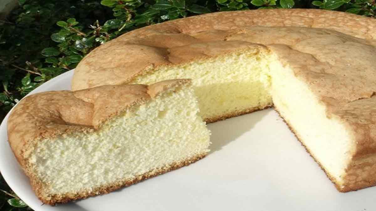 Gâteau de Savoie bien moelleux