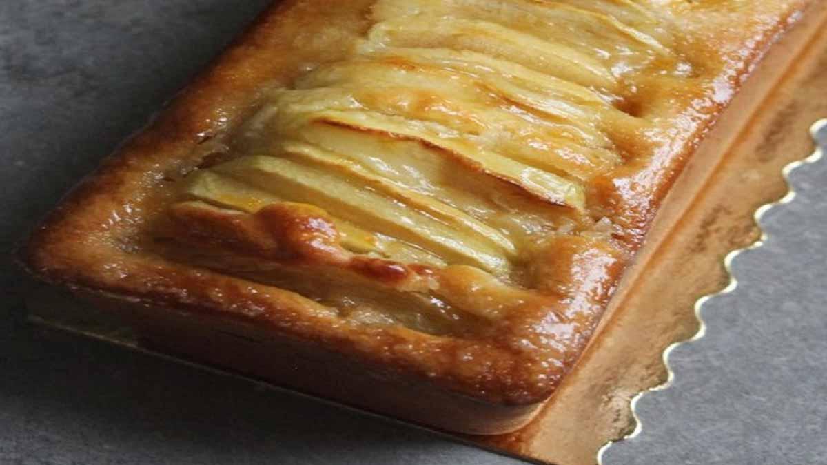 Moelleux aux pommes version cake