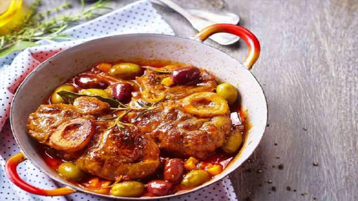 Osso bucco aux olives