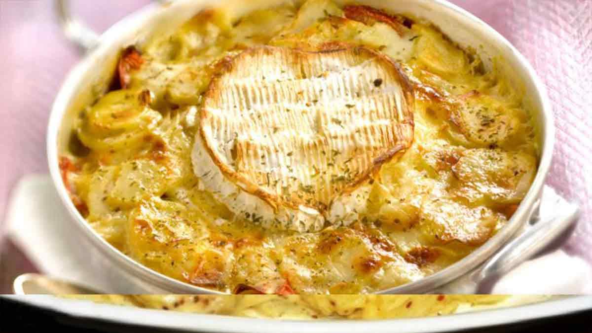 Savoureux gratin de pommes de terre