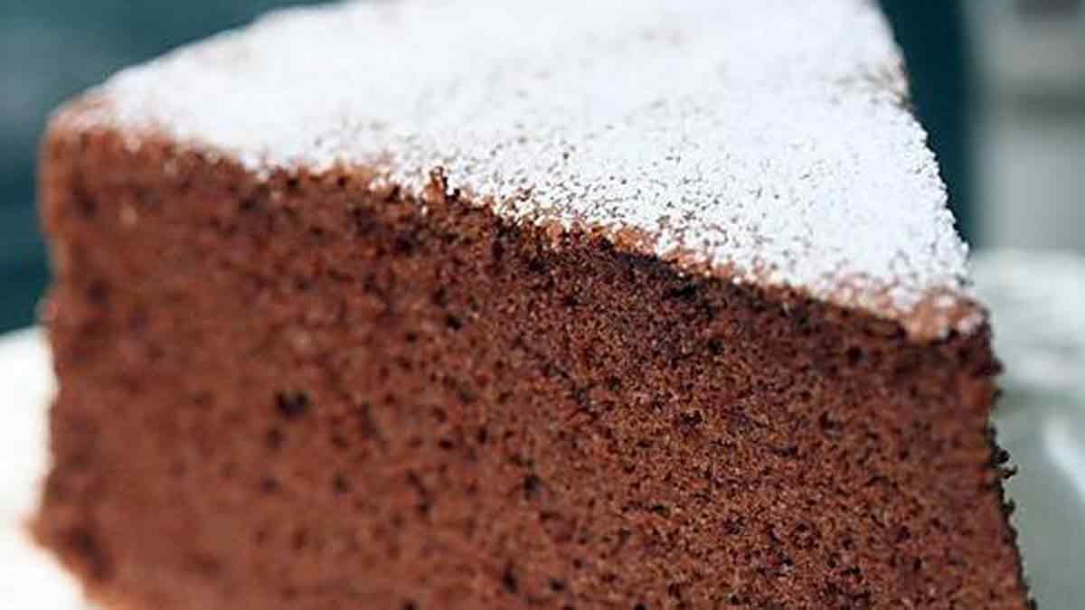 Succulent gâteau au chocolat aérien