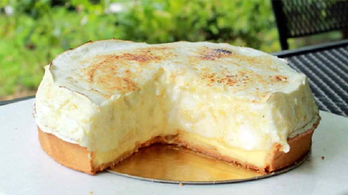 Succulente tarte soufflée au citron