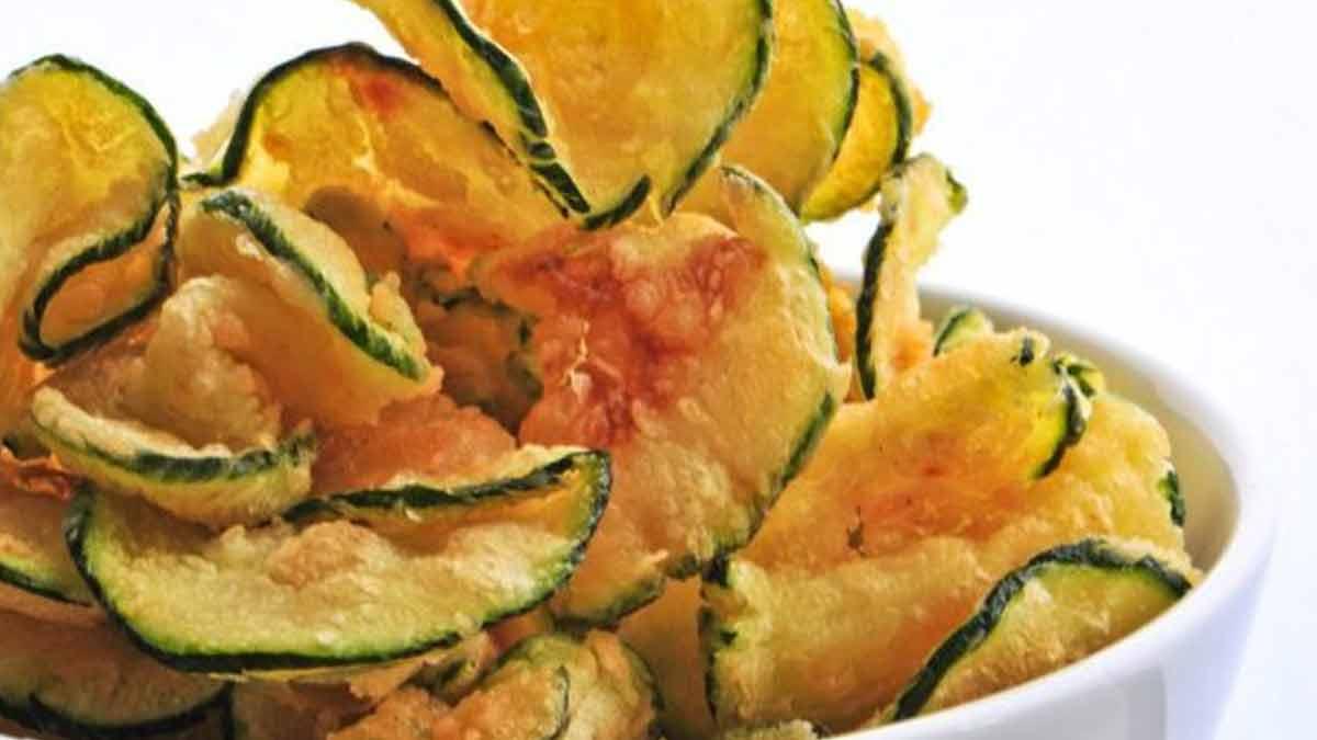 chips de courgettes irrésistiblement croustillantes