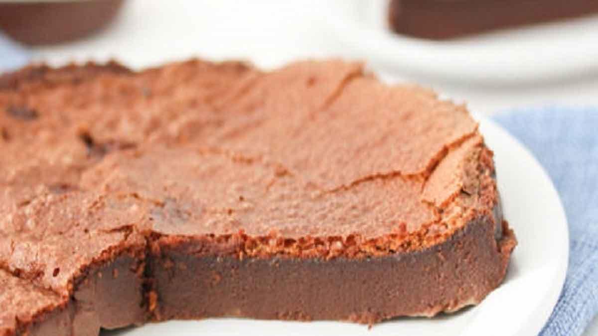 fondant au Nutella avec 2 ingrédients