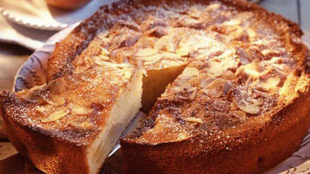 gâteau au yaourt poires amandes