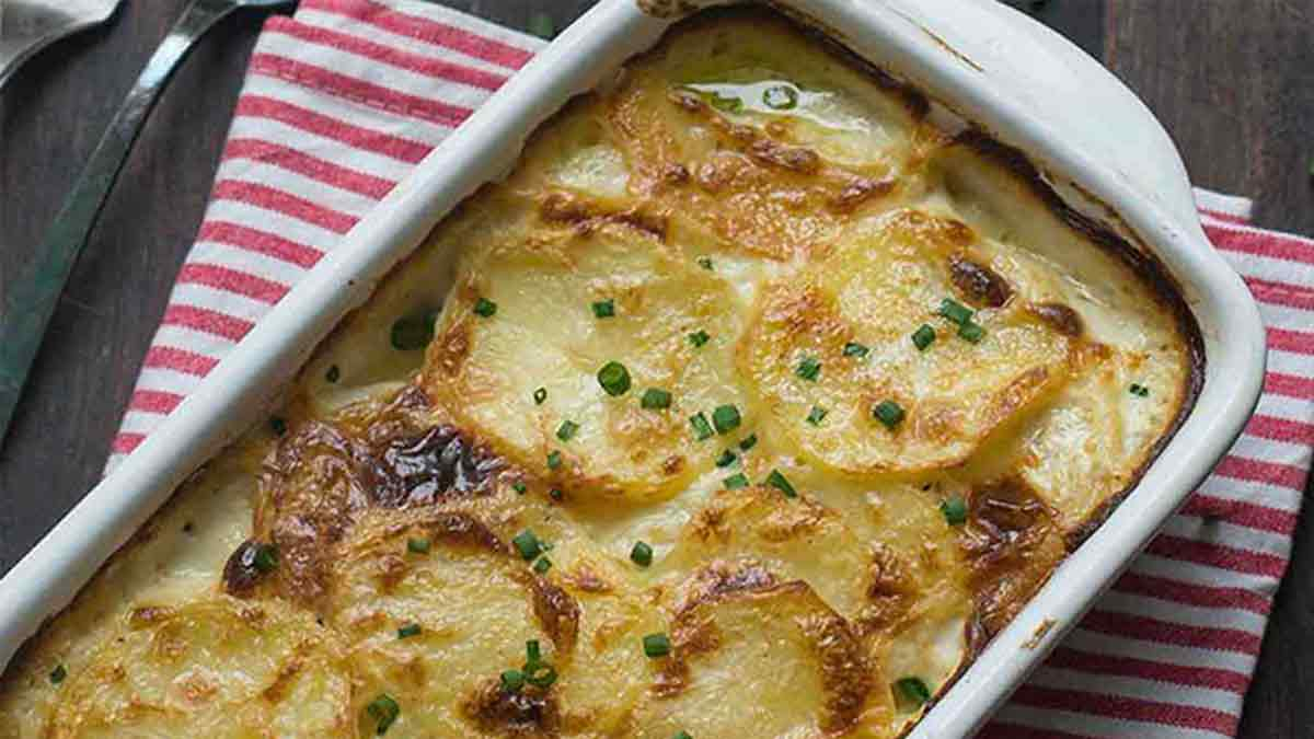 gratin de pommes de terre Dauphinois