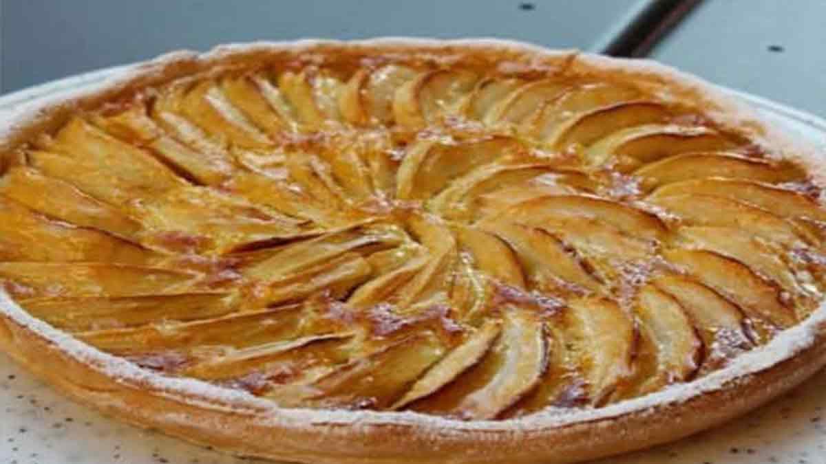 tarte aux pommes tellement goûteuse