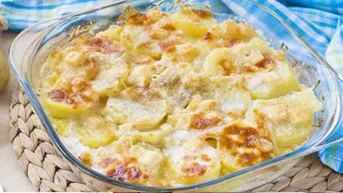 Délicieuses pommes de terre savoyardes simple et rapide