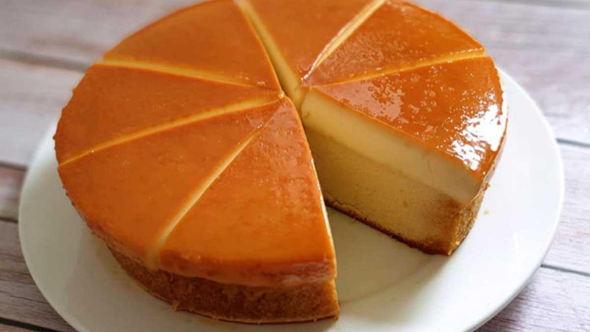 Délicieux gâteau magique à la vanille